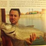 """Der """"Tough Angler"""" mit echt zachem Donauschied."""