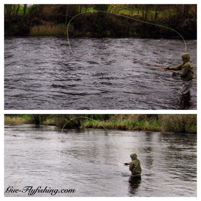 Weather? Shitty! Spey Casting? Slightly improving...