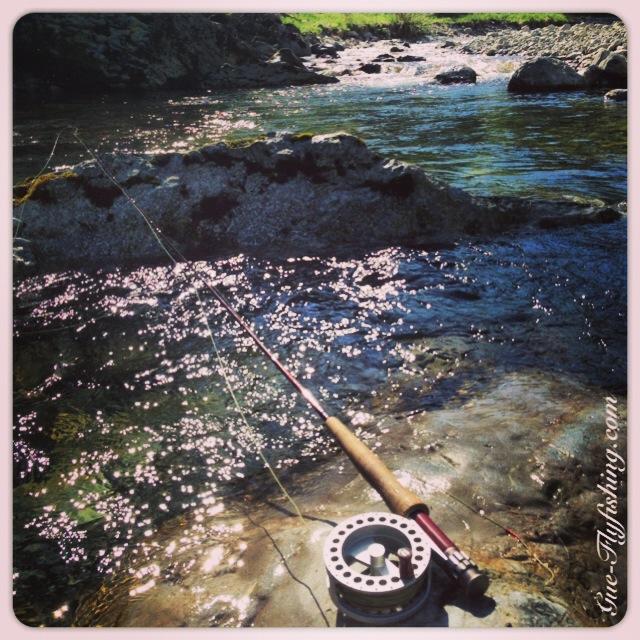 Mit der kurzen 3er Rute auf Indianderfischerei - einfach nur ein Hochgenuss!