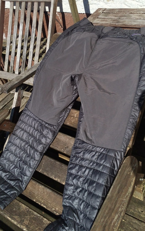 """""""Wärmste"""" Empfehlung für die Patagonia Nano Puff Pants."""