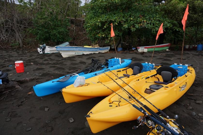 Wir wollten mal was neues probieren. Mit dem Kayak und light Tackle (30lbs Ausrüstung) auf Roosterfish und Co war definitiv was Neues!